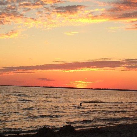 Ard Macha Bed and Breakfast : Sandbanks sunset Aug. 2016