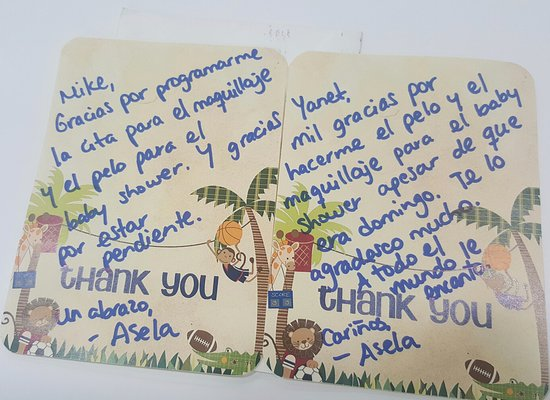 our clients love us client thank you cards picture of miami