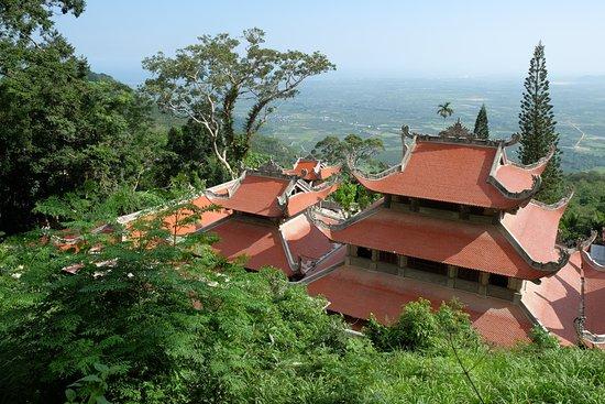 Phan Thiet, Wietnam: Монастырь вид сверху