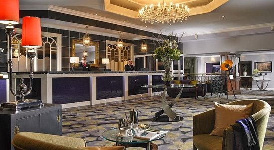 Gleneagle Hotel: Reception