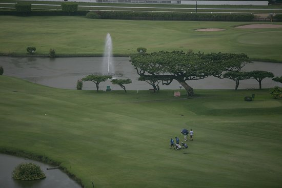 The St. Regis Bangkok: View of the golf course
