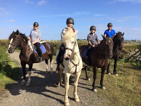 Mullion, UK: Newton Equestrian Holidays
