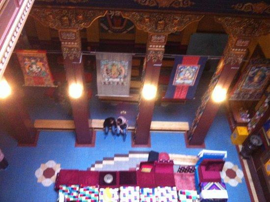Buddhist Temple: Вид сверху