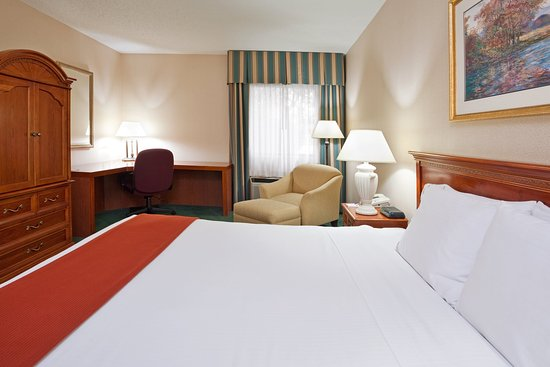 Holiday Inn Express Warren: King Bed Guest Room