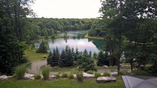 Seven Springs, Pensilvanya: A view from their deck.