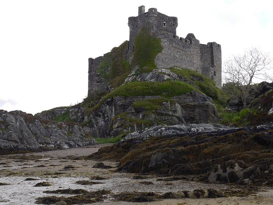 Lochaber, UK: Southern shore view at Castle Tioram