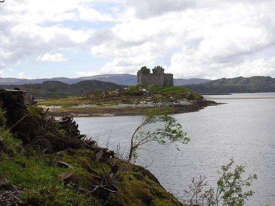 Lochaber, UK: Castle Tioram from Silver Walk