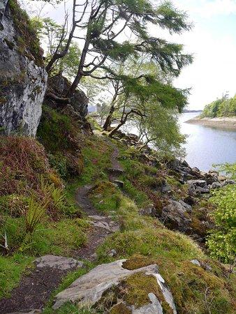 Lochaber, UK: Coastal path at Castle Tioram