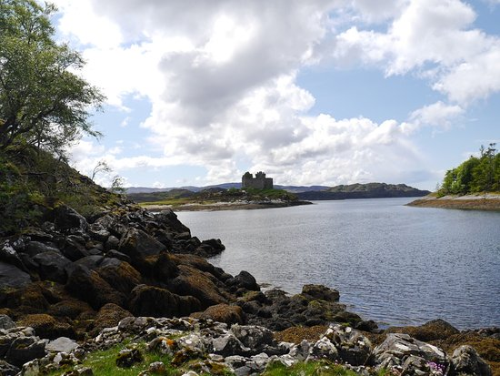 Lochaber, UK: Castle Tioram from Silver Walk