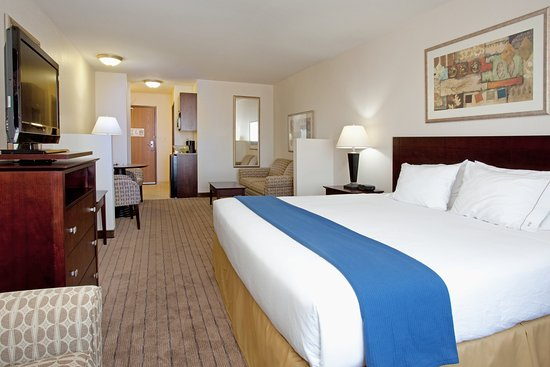 Holiday Inn Express Buffalo : King Bed Suite