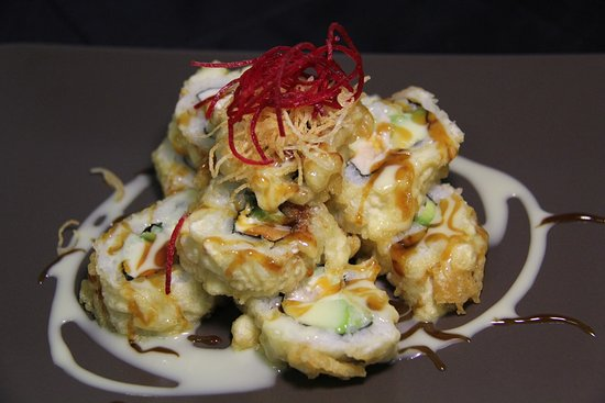 Surrey, Canadá: Deep-fried Salmon Roll
