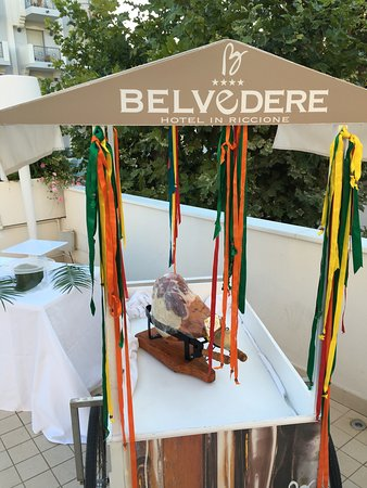 Hotel Belvedere: Pool & beach party plus miscellaneous