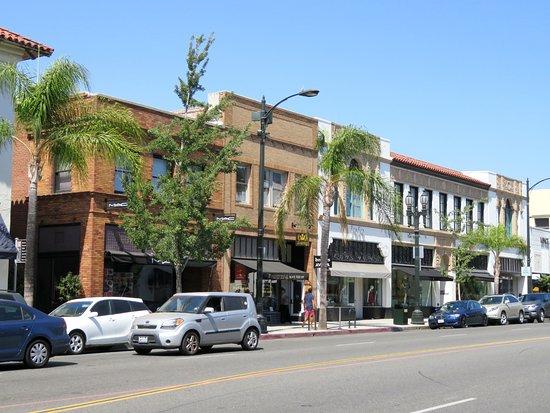 Old Pasadena Town South California 26 Jul 16