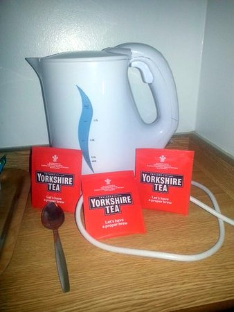 Days Inn Leicester Forest East M1: Yorkshire Tea!