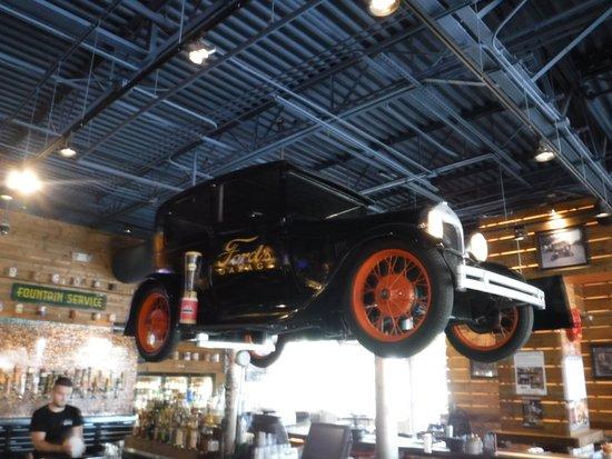Car Above Bar Picture Of Ford S Garage Estero Tripadvisor