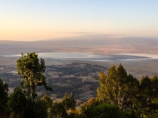 Ngorongoro Wildlife Lodge: Evening View from Our Room