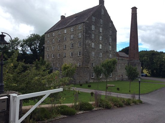 Ballydugan Mill: View from the entrance