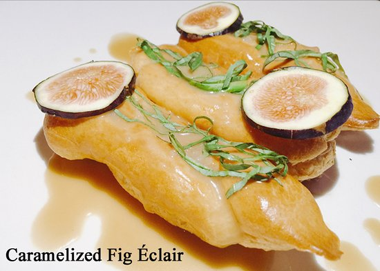 Citizen Kitchen: Caramelized Fig Eclair