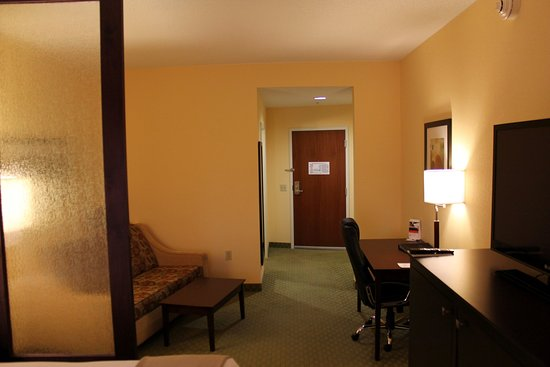 Holiday Inn Express & Suites - Harrisburg West: Single Bed Guest Room