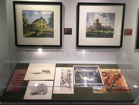 Denver Public Library: Historical documents and photos display.