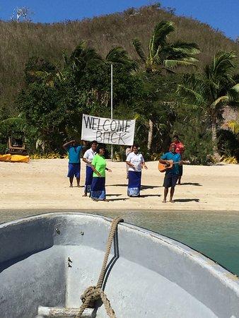 Navutu Stars Fiji Hotel & Resort: back home