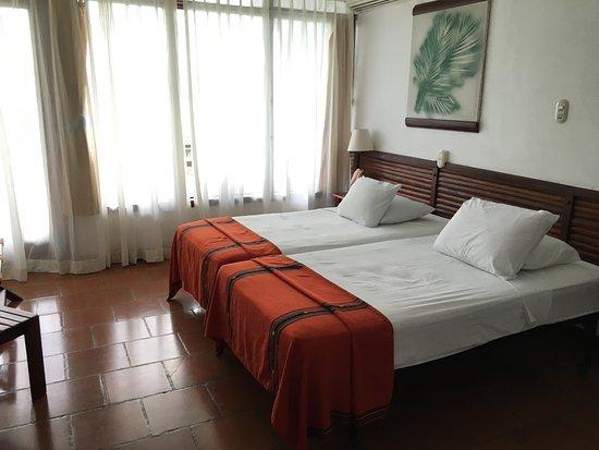 Hotel Villa Caribe: Panorámica de una habitación doble