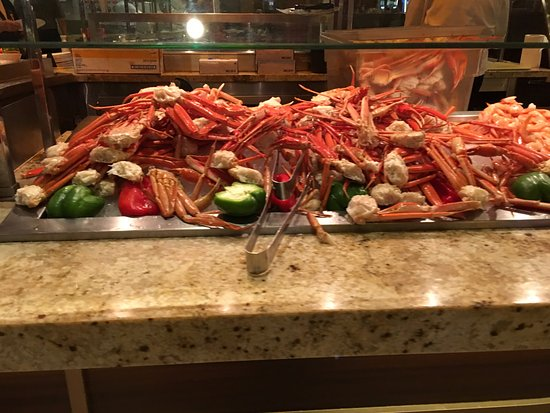 the crab legs are great int he buffet and they will even steam rh tripadvisor com harrah's rincon buffet hours harrah's rincon buffet discount