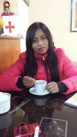 Casa de Mama Cusco Recoleta : Coca Tea Upon Arrival