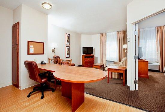 Candlewood Suites Georgetown: One Bedroom Studio ADA Suite - Single Bed Guest Room