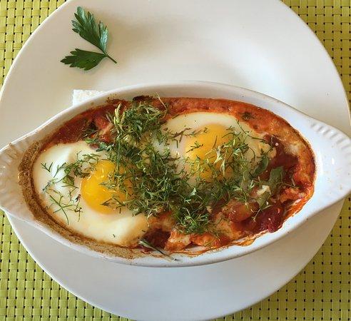 Rock Hall, Maryland: Shakshuka - fabulous breakfast entree I ordered every day