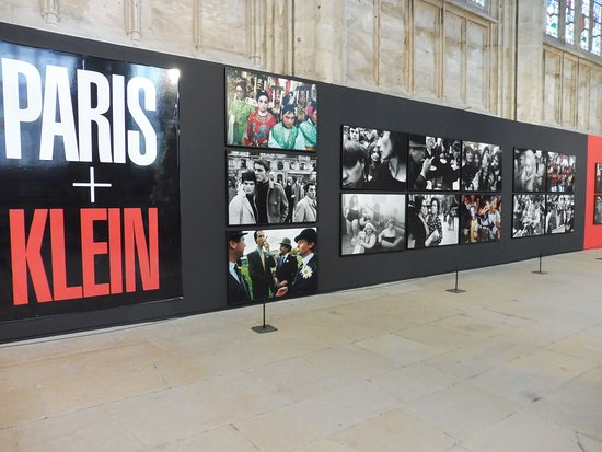 St. Ouen's Abbey: Interior given over to a Photo Exhibition