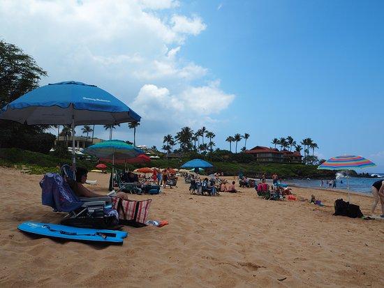 Wailea Beach: ビーチの風景
