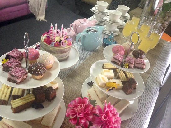 Airlie Day Spa & Hair Studio: Birthday parties where everything can be catered for