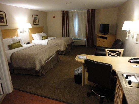 Candlewood Suites Houston, The Woodlands: Double Queen Studio Suite