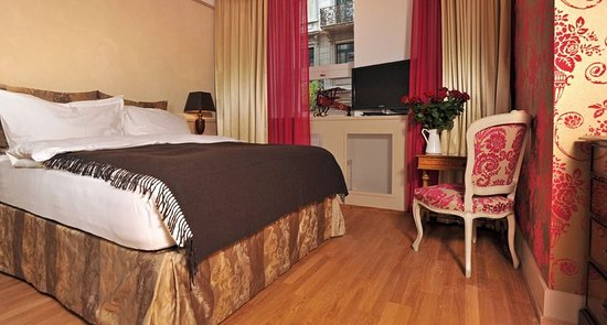 Townhouse Boutique Hotel: Small double room 15 sqm