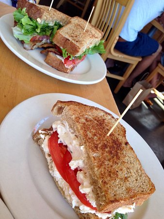 Marie Catrib's of Grand Rapids : Grilled cheese & BLT