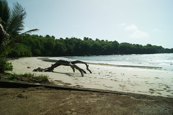 Crochu, Grenada: Secluded beach