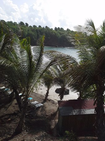 Crochu, Grenada: View from private balcony