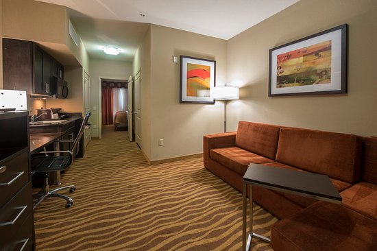 Holiday Inn Hotel-Houston Westchase: King Suite Living Area
