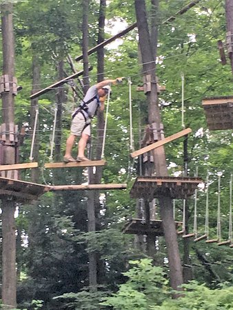 Clymer, Νέα Υόρκη: Ropes Course
