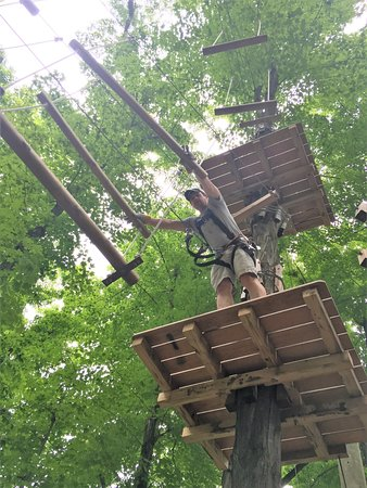 Clymer, NY: Ropes Course