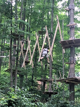 The Inn at the Peak: Ropes Course