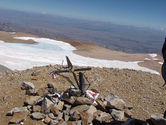 Volcán Domuyo: Cumbre de Domuyo