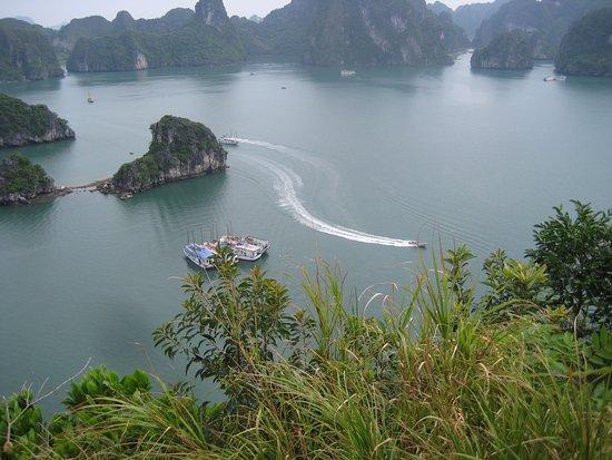 Bai Tu Long Bay: 俯視下龍灣全景