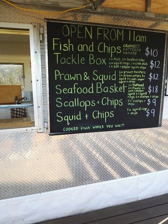 Triabunna, Australien: The Fish. Van