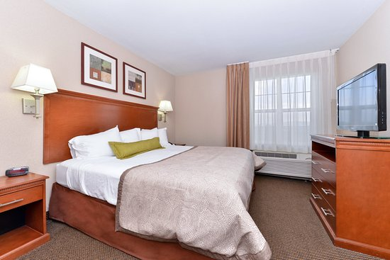 Candlewood Suites Elmira Horseheads: Single Bed Guest Room