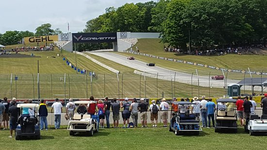 Elkhart Lake, WI: View at turn 5