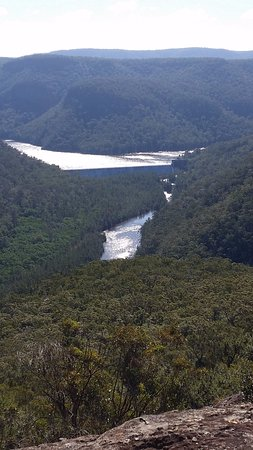 Kangaroo Valley, ออสเตรเลีย: Tallowa Dam- third and longest walk