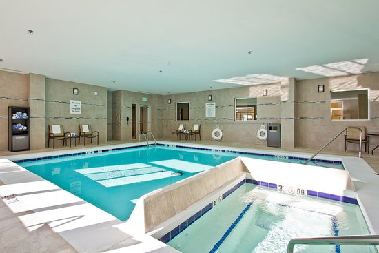 The Timbers Hotel: Holiday Inn Express and Suites Denver East Indoor Pool Whirlpool