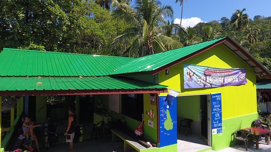 Salang Bay Divers Dive Center front view